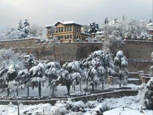 Bursa Öğretmenevi Kış Manzarası