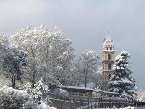 Bursa Öğretmenevi Balkon Kış Manzarası